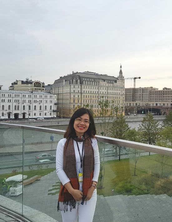 MRS HA NGUYEN – INTERNATIONAL BUSINESS MANAGER